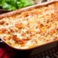 Pasta dishes and casseroles are perfect make-ahead meals.