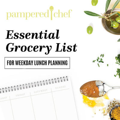 Make lunch planning a breeze.