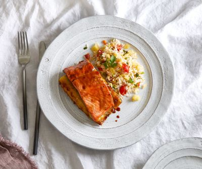grilled pineapple salmon