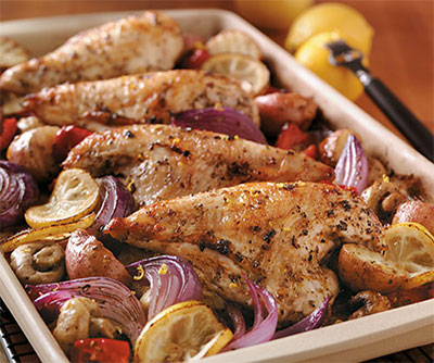 Lemon Greek Chicken
