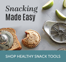 Snacking made easy--shop healthy snack tools