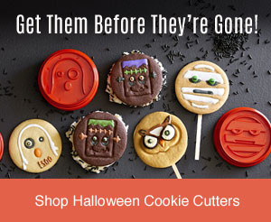 Get Them Before They're Gone! Shop Halloween Cookie Cutters