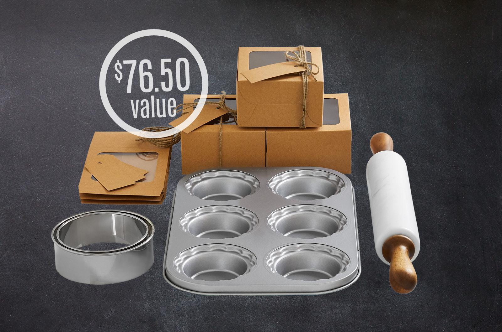 Mini Pie Gift-Making Set, $76.50 value