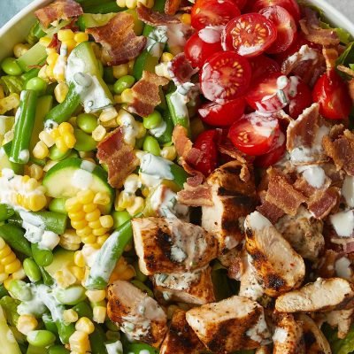 Chicken Barbecue Chopped Salad