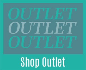 Outlet. Outlet. Outlet. Shop now.