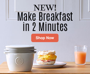 New! Make Breakfast in 2 Minutes. Shop now.