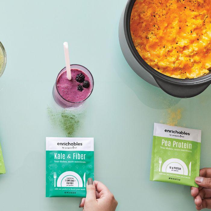 Enrichables Pea Protein and Kale & Fiber