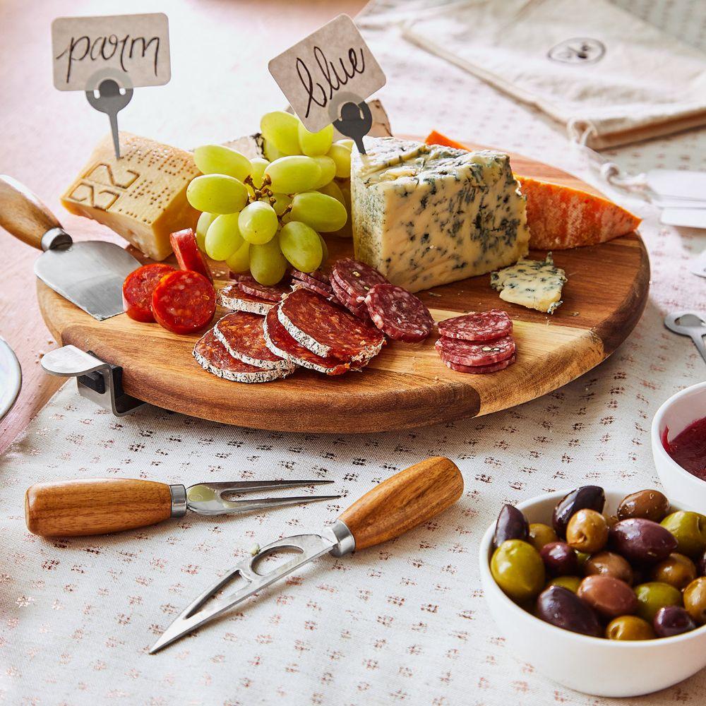 Premium Charcuterie & Cheese Board Set