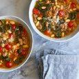 White Bean, Sausage & Kale Soup
