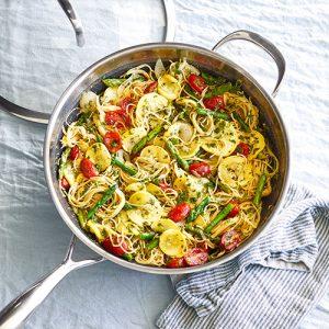 Pasta Primavera With Gremolata