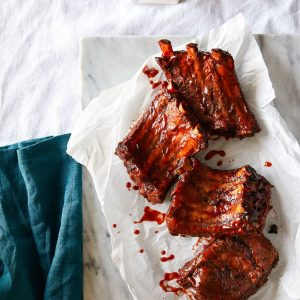 Quick Cooker Barbecued Root Beer Ribs