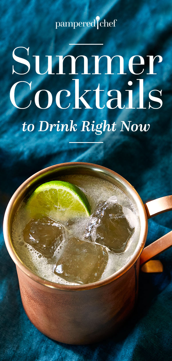 Summer Cocktails to Drink Right Now
