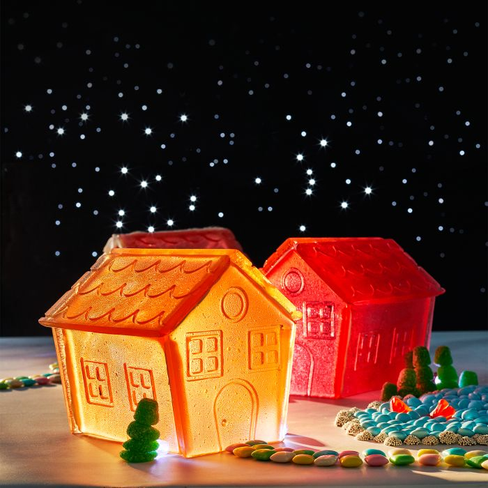 Holiday House Made of Candy