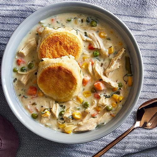 Chicken Pot Pie Chowder
