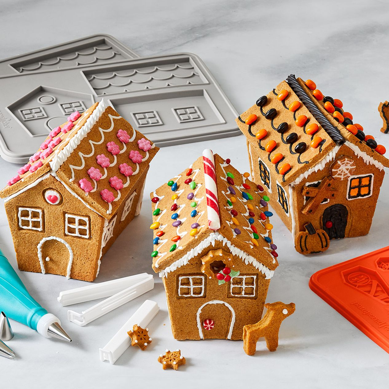 How to Make a Gingerbread House from Scratch , Pampered Chef