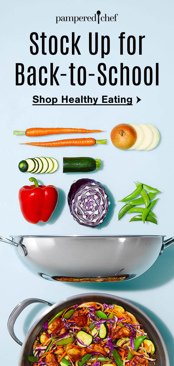 Stock Up for Back-to-School. Shop Healthy Eating