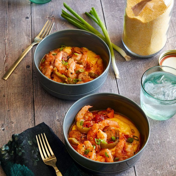 Quick Cooker Shrimp & Grits