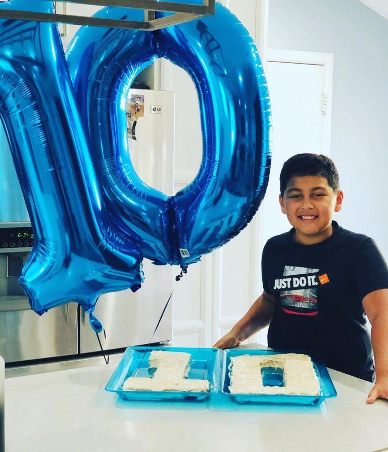 Number 10 Cake