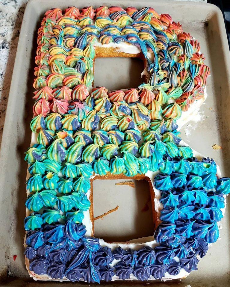 Letter B Cake