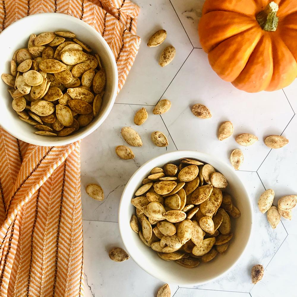 Chai Spice Pumpkin Seeds