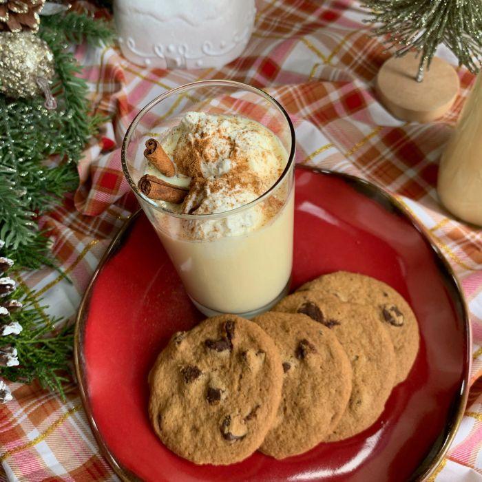 Eggnog & Cookies