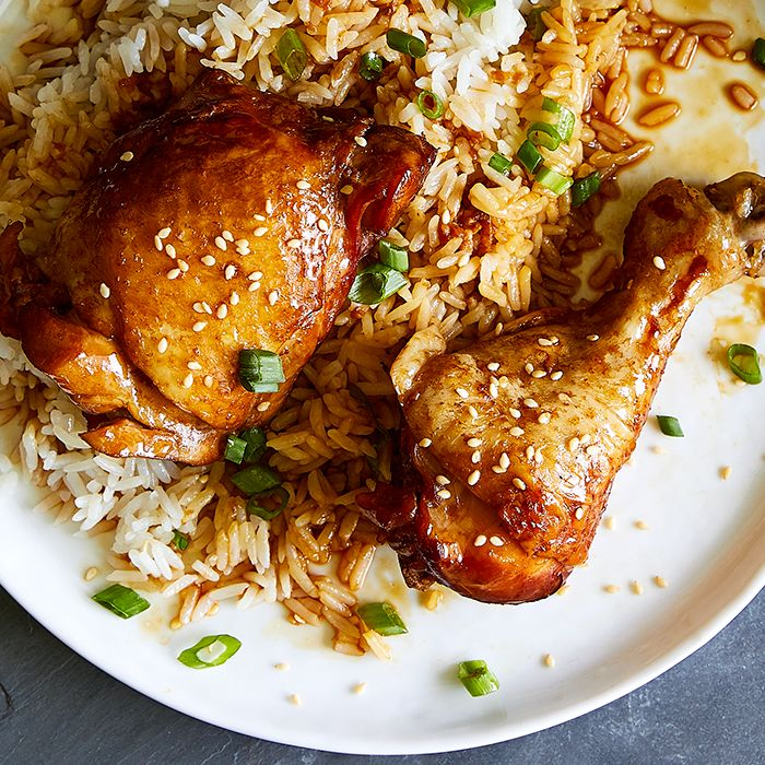Quick Cooker Chicken Teriyaki & Rice