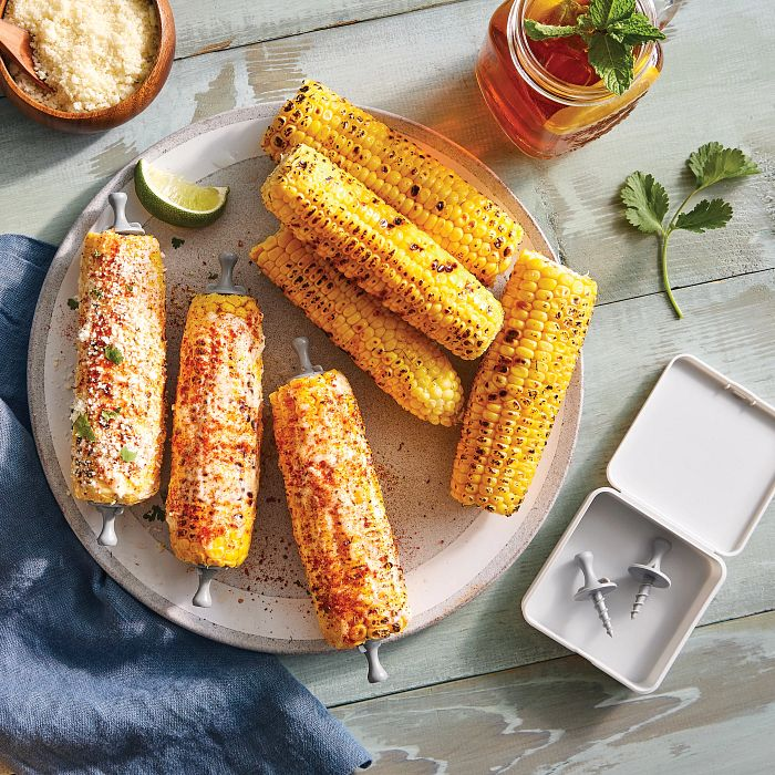 Corn on the Cob and Corn Cob Holders