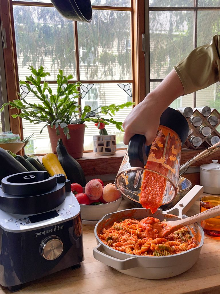 blender pasta sauce
