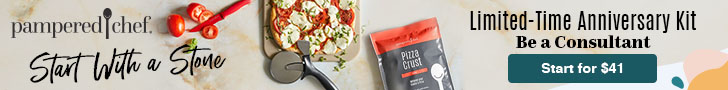 Pampered Chef, Start With a Stone, In limited-time anniversary kit $41,Become a Consultant