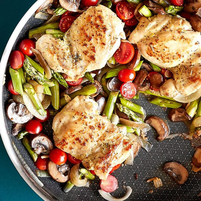 Roasted Chicken & Asparagus